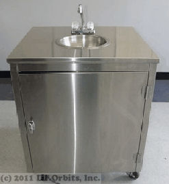 Front view SM200 hand wash sink
