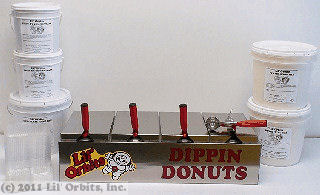 Dippin Donuts package items